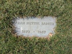 Sarah Hettie Barker