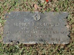 PFC Albert J. Bradbury