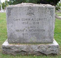 Edwin A Leavitt