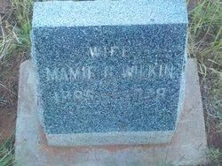Mamie Garfield <I>Mills</I> Wilkin