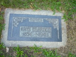 "Catherine ""Kate"" <I>Miller</I> Hedge"