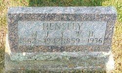 Mary Jane <I>Cabe</I> Hensley