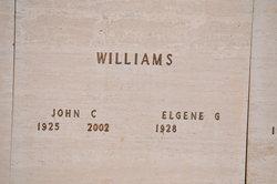 """John Clark """"Jack"""" Williams"""
