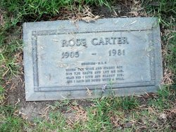 Rose <I>Davis</I> Carter
