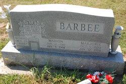 Marjorie <I>Modglin</I> Barbee