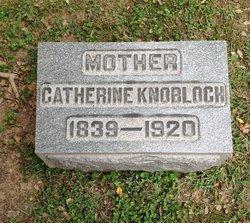 Catherine <I>Haley</I> Knobloch