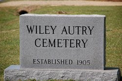 Wiley Autry Family Cemetery