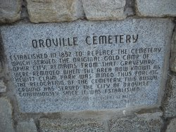 Old Oroville Cemetery