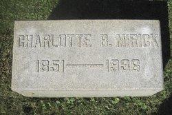 Charlotte E <I>Brown</I> Mirick