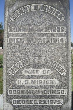 Henry Dustin Mirick