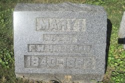 Mary I. <I>Stedman</I> Hackman