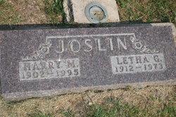 Letha Grace <I>Woodward</I> Joslin
