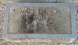 Mack Daniel Barton, Sr