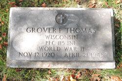 """Grover August """"Paul"""" Thomas"""