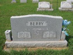 June Elois <I>Burns</I> Berry