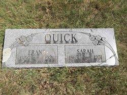Isabella Sarah <I>Dickerson</I> Quick