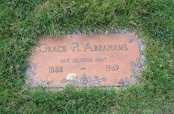 Grace R Abrahams