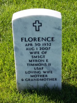"Florence Eva ""Bev"" <I>Potts</I> Timmons"