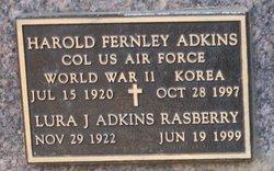 Harold Fernley Adkins