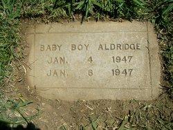 Baby Boy Aldridge