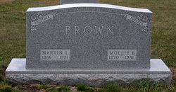 """Bertha Malena """"Mollie"""" <I>Erickson</I> Brown"""
