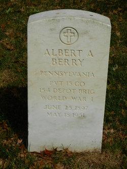 Albert A Berry