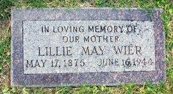 Lillie May <I>Reid</I> Wier