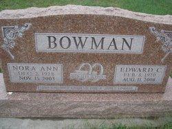 Nora Ann <I>Yates</I> Bowman