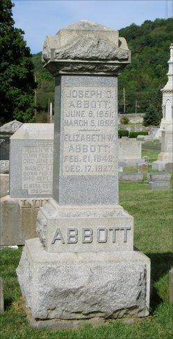 "Elizabeth C. ""Lizzie"" <I>Williams</I> Abbott"