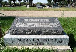 Norma Francis <I>Ecklund</I> Crockford