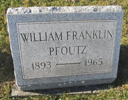 William Franklin Pfoutz