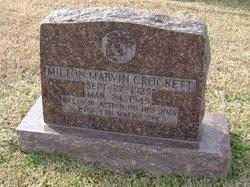 PFC Milton Marvin Crockett