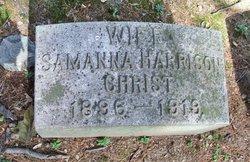 Samanna <I>Harrison</I> Christ