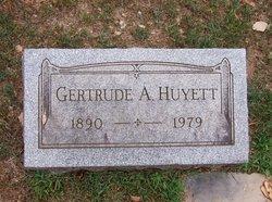 Gertrude A Huyett