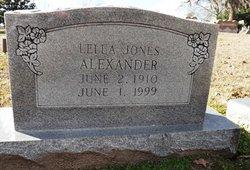 Lelle <I>Jones</I> Alexander