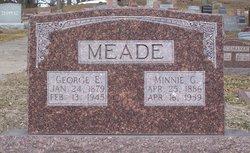 Minnie Gertrude <I>Olderog</I> Meade