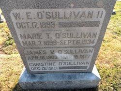 Marie <I>Thompson</I> O'Sullivan