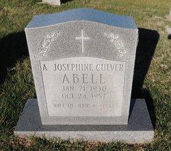 Agnes Josephine <I>Culver</I> Abell