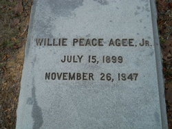 Willie Peace Agee Jr.