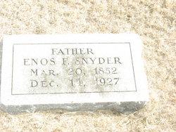 Enos Franklin Snyder