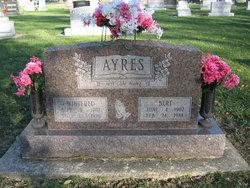 "Winifred ""Winnie"" <I>Taylor</I> Ayres"