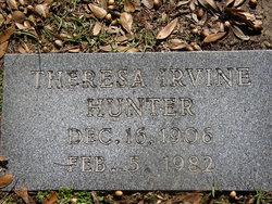 "Theresa ""Teta"" <I>Irvine</I> Hunter"