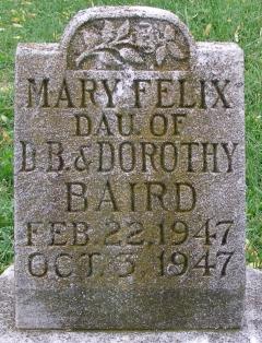 Mary Felix Baird