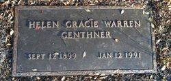Helen Gracie <I>Warren</I> Genthner