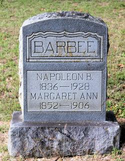 Margaret Ann <I>Hall</I> Barbee