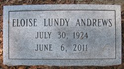Eloise <I>Lundy</I> Andrews