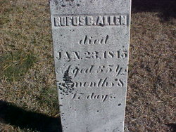 Rufus B Allen