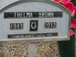 "Thelma ""Polly"" <I>Ragsdale</I> Brown"
