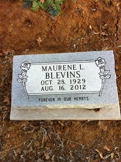 Maurene Loyce <I>Rogers</I> Blevins
