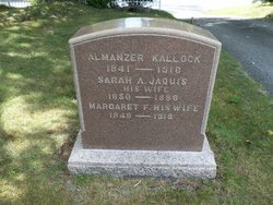 Margaret Frances <I>Jaquis</I> Kallock